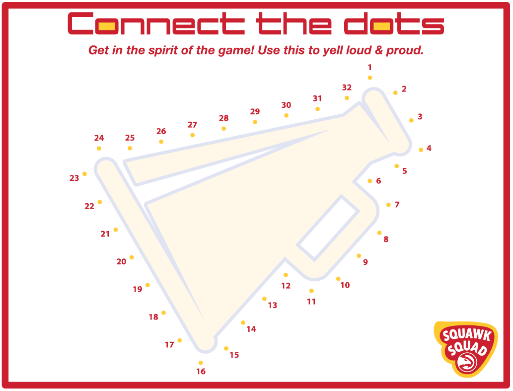 connect dots cheer